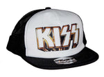KISS Gold Logo Snapback Trucker Hat