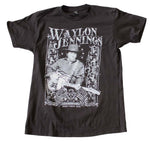 Waylon Jennings Portrait T-Shirt