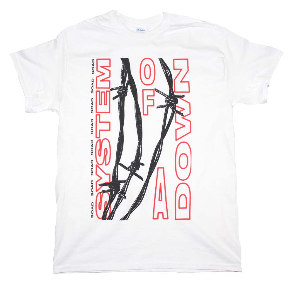 System of A Down Barbed Wire T-Shirt