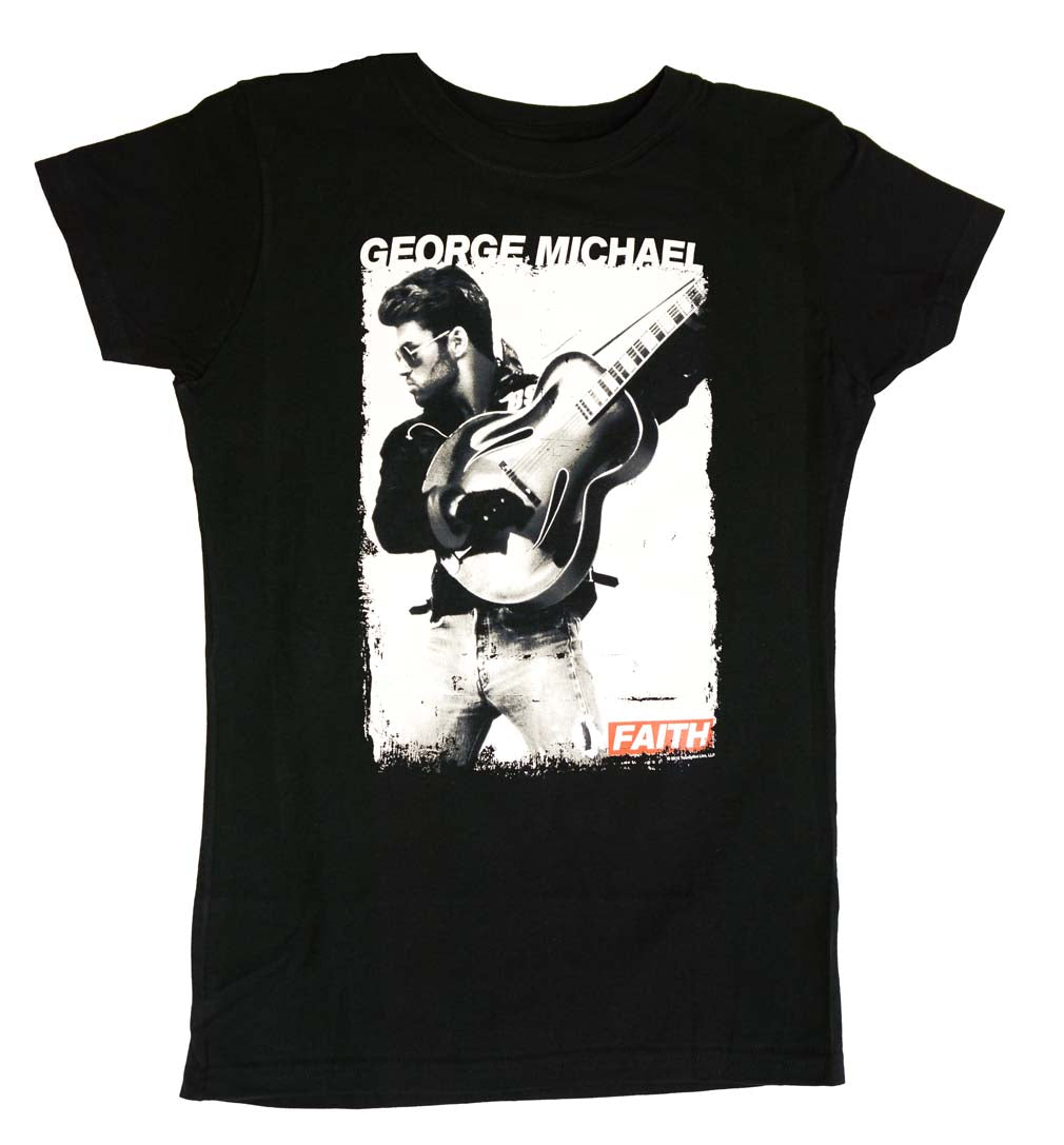 George Michael Faith Photo Juniors Tee