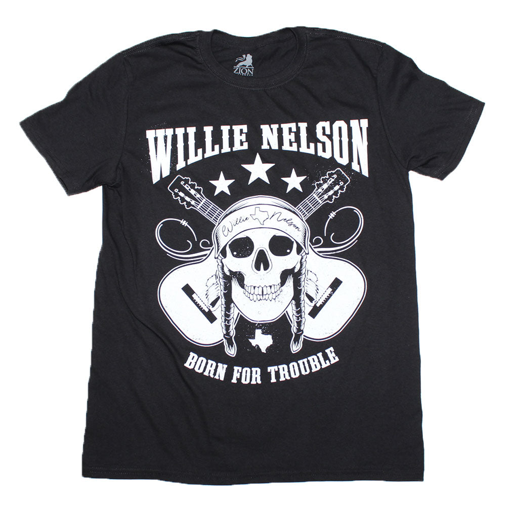 Willie Nelson Skull T-Shirt
