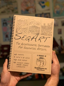 The SeqArt Sketchbook