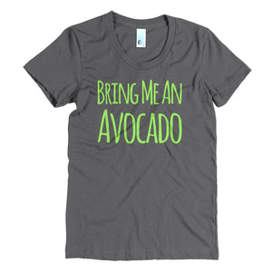 """Bring me an Avocado"" Crew Neck Tee"