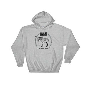 """Good At Drawing"" Logo Hooded Sweatshirt"