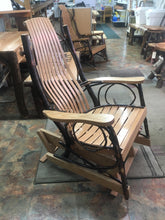 Glider - Hickory Bentwood