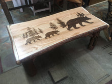 Coffee Table - Engraved