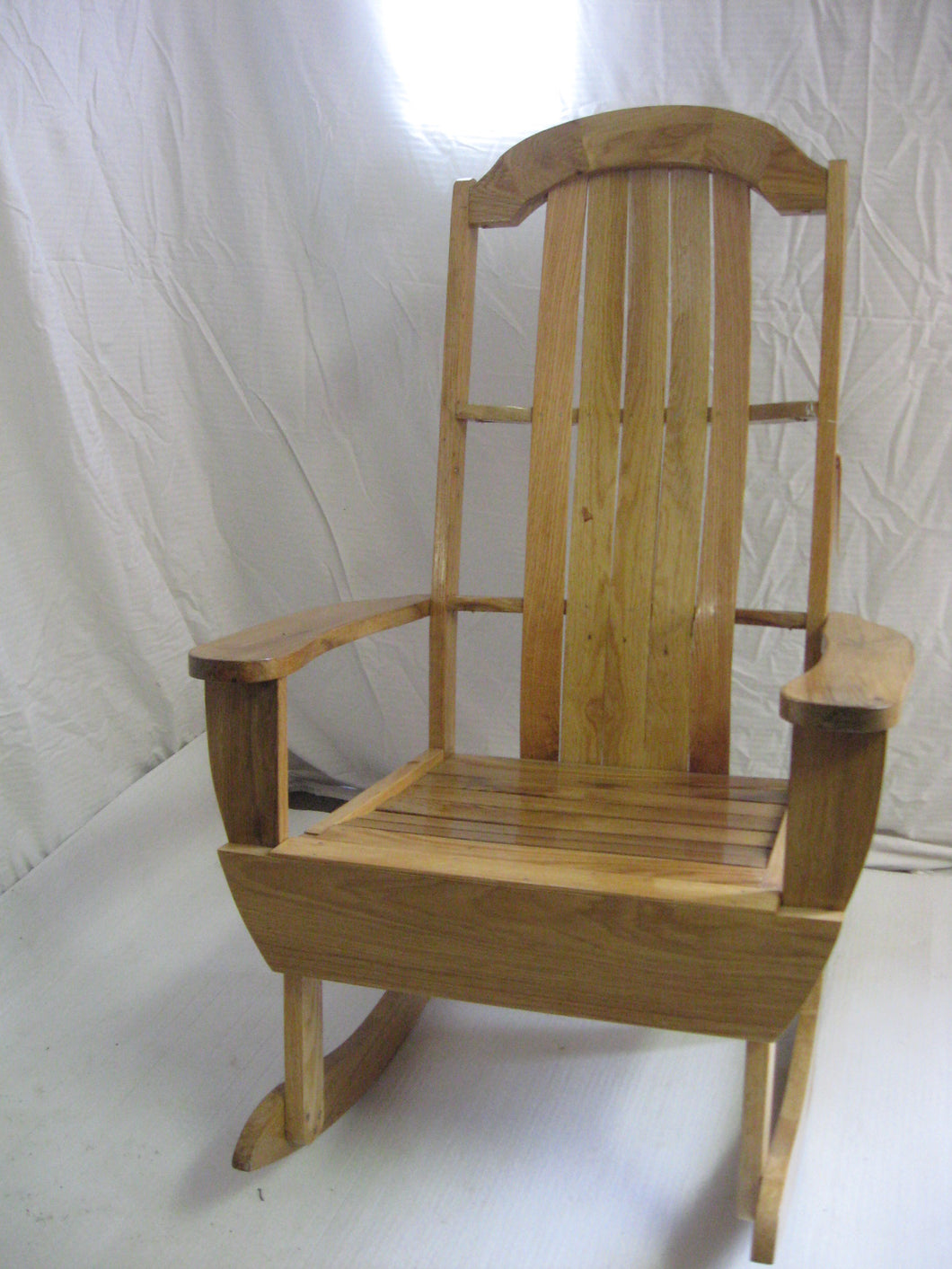 Rocker, Large Solid Oak or Walnut