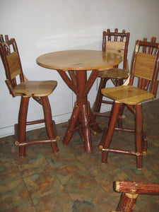 Pub Table - Oak, Walnut or Cherry & Sassafras