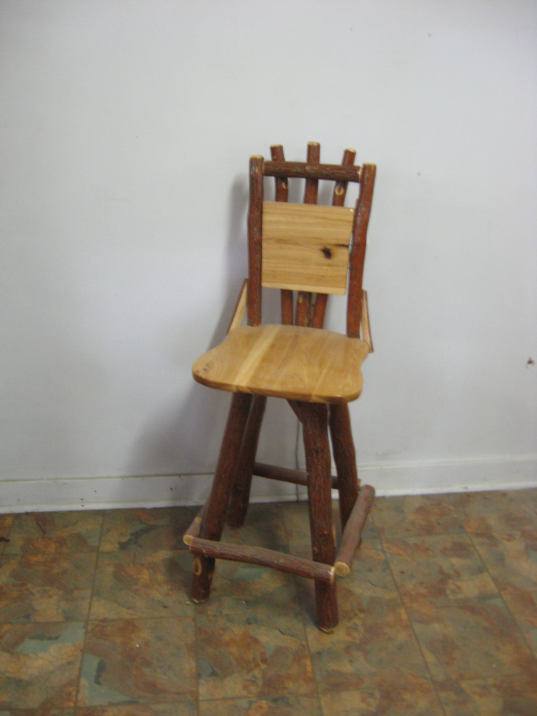 Barstool - With Back - Swivel Seat