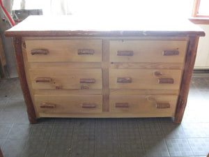 Dresser - 6 Drawer (Side by Side) - Oak, Walnut or Cherry