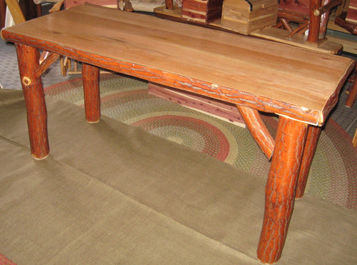 Sofa Table - Oak, Walnut or Cherry & Sassafras