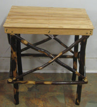 End Table - Hickory Slat