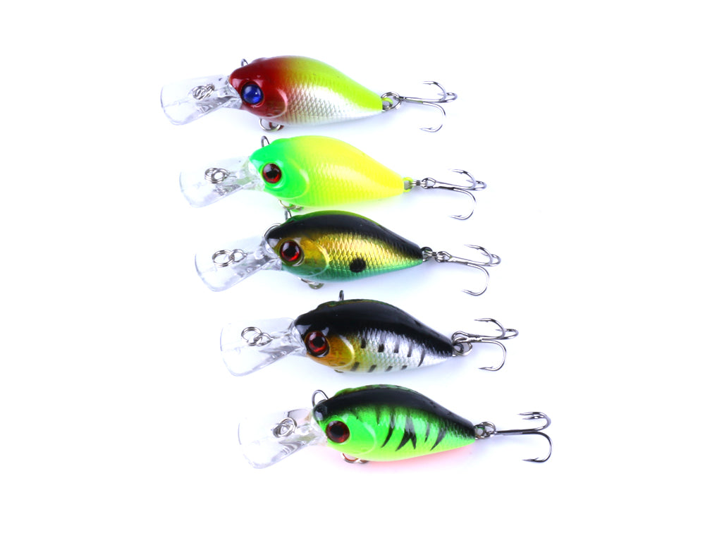 Life Like Floating Lures 5 Pack