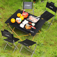 Load image into Gallery viewer, Light Weight Portable Camping Table