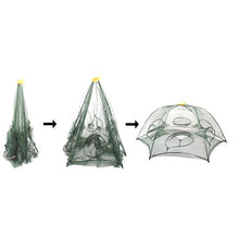 6 Hole Hexagon Popup Fishing Net Trap