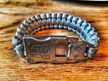 "Load image into Gallery viewer, ""Transformers"" Paracord Bracelet"