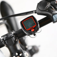 Bicycle Speedometer & Light Set