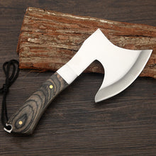 Load image into Gallery viewer, Wood Handled Tomahawk