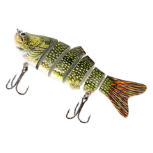 Load image into Gallery viewer, 6 Segment Wobbling Fishing Lure
