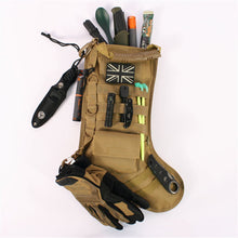 Load image into Gallery viewer, Tactical Molle Christmas Stocking