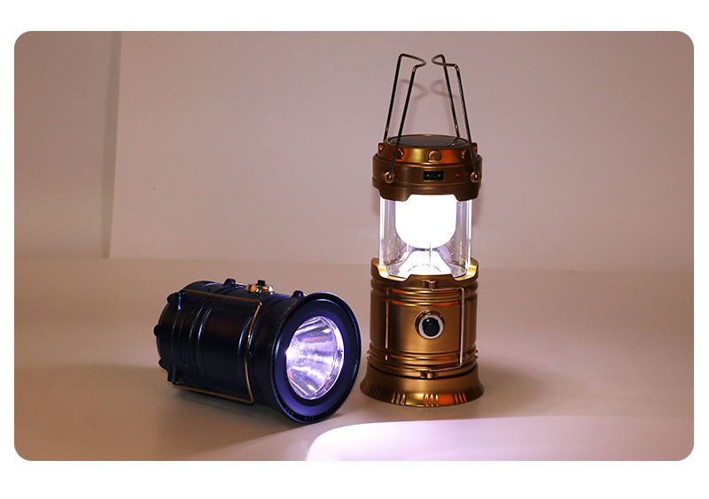 Supreme Classic Style LED Solar Camping Lantern