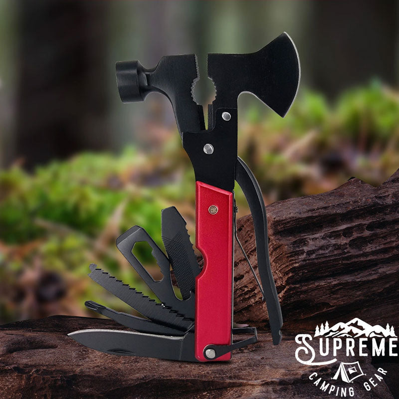14-in-1 Multitool Hammer with Axe