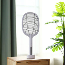 Load image into Gallery viewer, 2-IN-1 ELECTRIC SWATTER & NIGHT KILLING LAMP USB Rechargeable