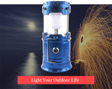 Load image into Gallery viewer, Supreme Classic Style LED Solar Camping Lantern