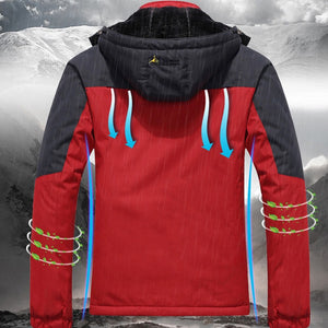 Men's Waterproof Inner Fleece Jacket