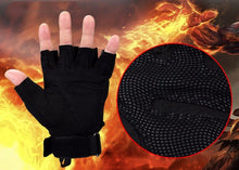 Load image into Gallery viewer, Military Tactical Half Finger Gloves
