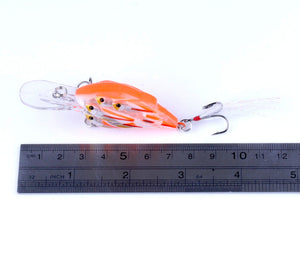 Set of Crankbait Group Fishing Tackle