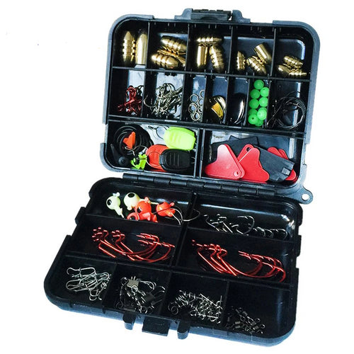 128 pcs/boxes Fishing Accessories