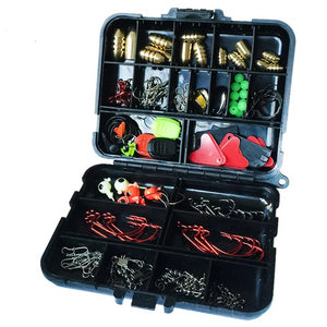 iLure 128 pcs/boxes Fishing Accessories
