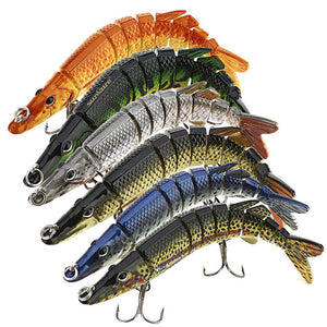 9 Segments Fishing Lures