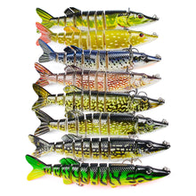 Load image into Gallery viewer, 9 Segments Fishing Lures