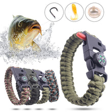 Load image into Gallery viewer, Fishing Tactical Paracord Bracelet
