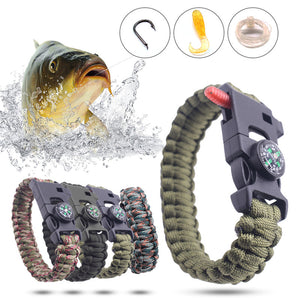 Fishing Tactical Paracord Bracelet