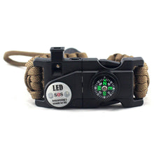Load image into Gallery viewer, SOS PARACORD BRACELET