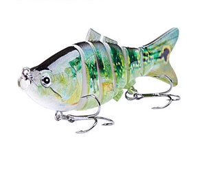 LUREASY 6 Segment Fishing Lure