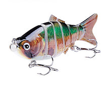 Load image into Gallery viewer, LUREASY 6 Segment Fishing Lure