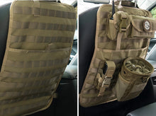 Load image into Gallery viewer, Tactical Car Seat Organizer