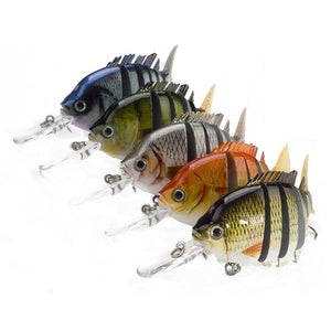 6 Segment LifeLike SwimBait - Free Shipping