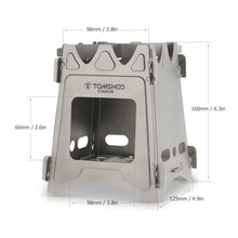 Load image into Gallery viewer, Titanium Portable Camping Stove