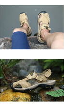 Load image into Gallery viewer, Men's Leather Outdoor Sandals