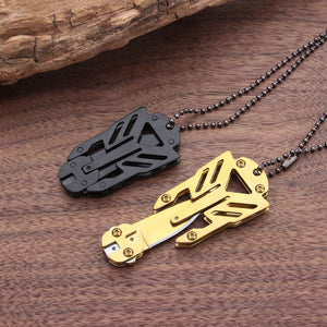 Transformers Decepticon Necklace Survival Tool