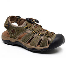 Load image into Gallery viewer, Men's Hiking Leather Breathable Sandals Shoes