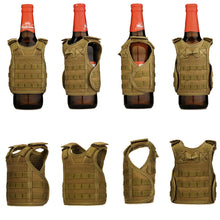 Military Tactical Vest Koozie