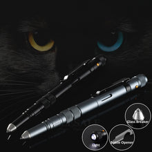 Load image into Gallery viewer, SC 4-In-1 Tactical Pen | Flashlight, Bottle Opener, Glass Breaker