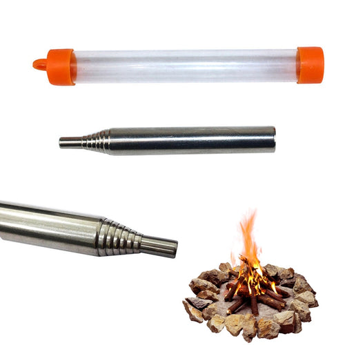 Collapsible Fire Starter Blow Tube
