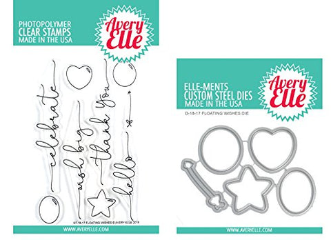 Avery Elle - Stamp & Die Set - Floating Wishes